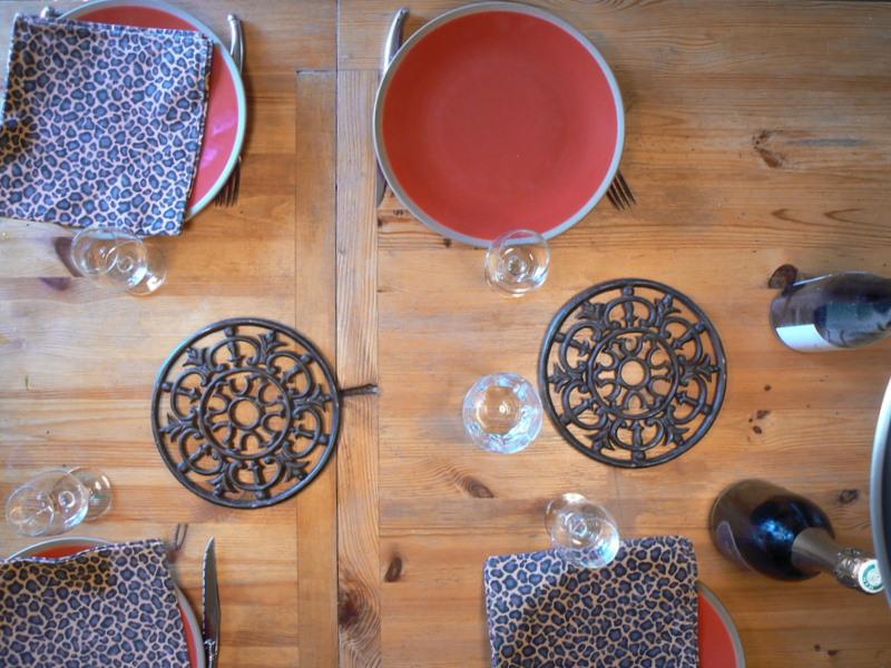 Une table nancéenne avant la bataille