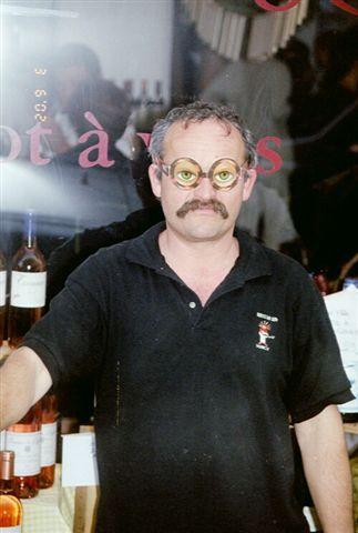 Rare vigneron des Alpes-Maritimes