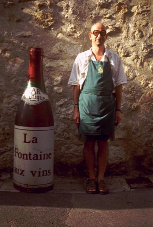 Vous connaissez le petit coup de rouge de La Fontaine aux Vins à Valbonne ?