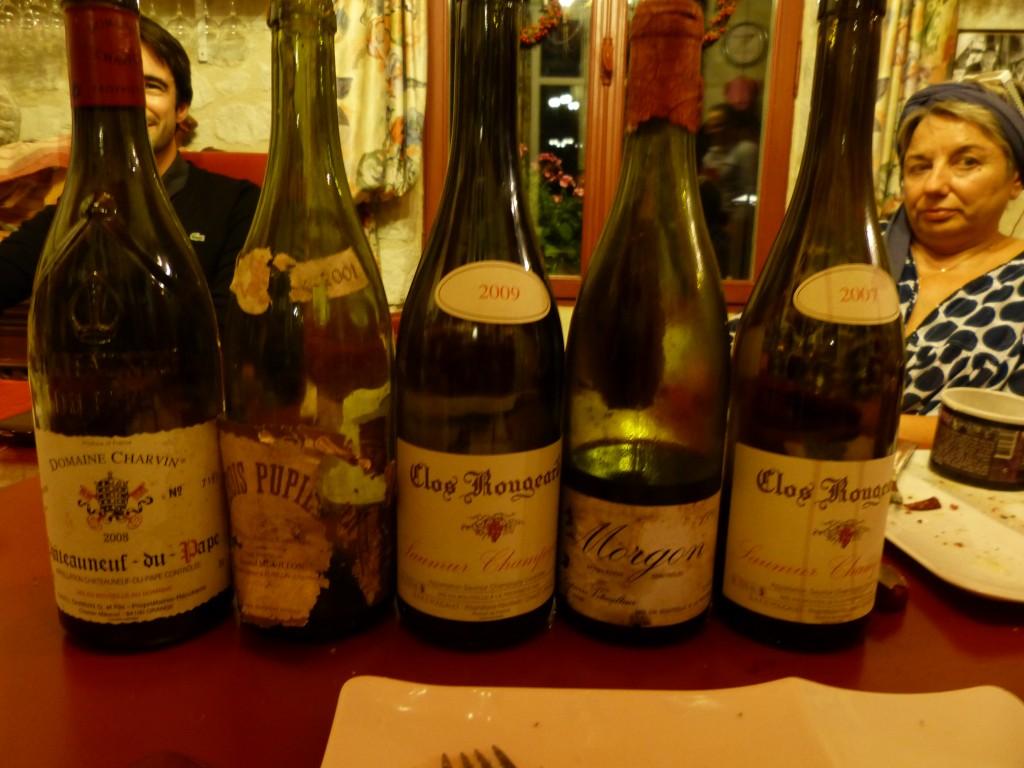 Paire de Rougeard et Charvin, Houillon-Overnoy et Lapierre.