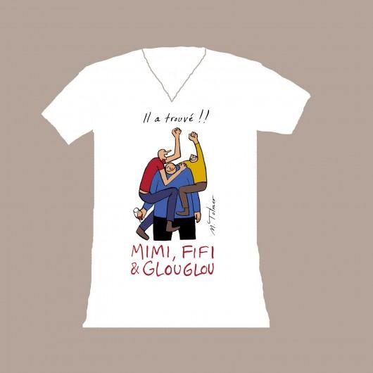 T-shirt Mimi Fifi Glouglou-femme