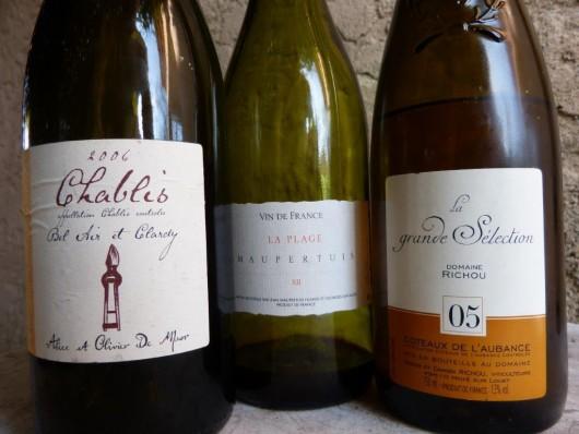 Chardonnay, gamay et encore chenin. Passez à l'encaissement.