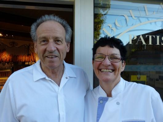Le Boulanger et la Patissière de Claret.