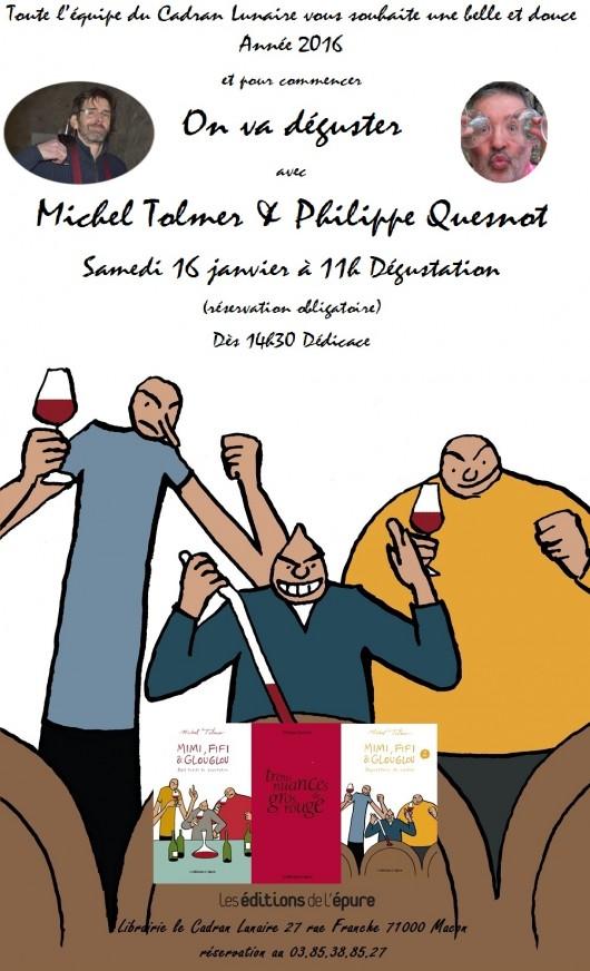 Dédicace à la Librairie le Cadran Lunaire à Mâcon le samedi 16 janvier à partir de 14h30.