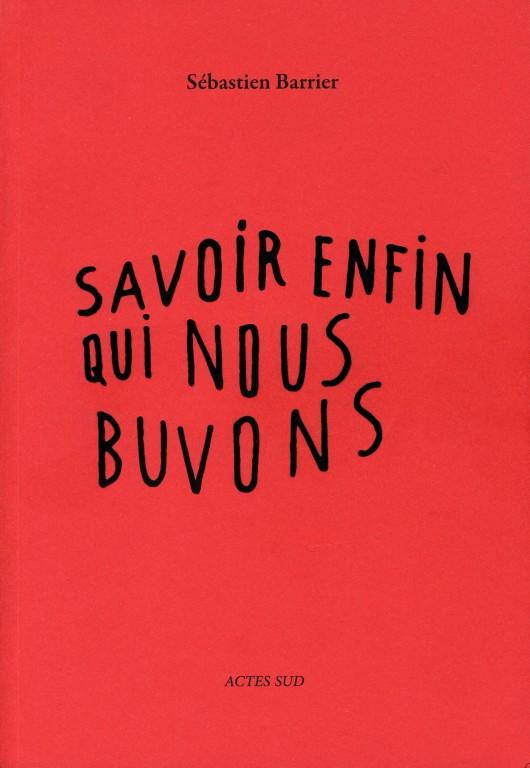 Sébastien Barrier aux Editions Actes Sud