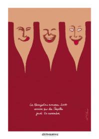 Affiche Beaujolais Les Papilles 2014
