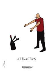 Affichette Attraction