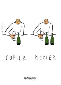 Affichette Copier-picoler