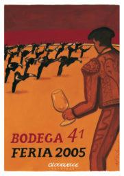 Affiche Bodega 41 Feria 2005