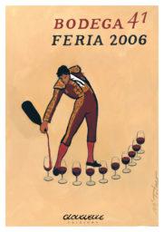 Affiche Bodega 41 Feria 2006