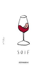 Affichette Soif