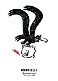 Affiche Glougueule Agence de boivages par Yves Got