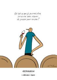 Affichette Mimi, Fifi & Glouglou-Qu'est-ce que je pourrais dire