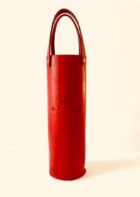Porte-bouteilles Glougueule par Mylène Pratt – rouge