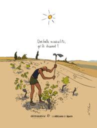 Affichette Mimi, Fifi & Glouglou-Une belle minéralité